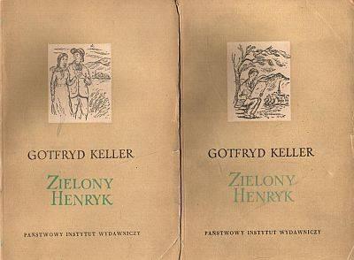 Znalezione obrazy dla zapytania Gotfryd Keller Zielony Henryk Tom 1-2