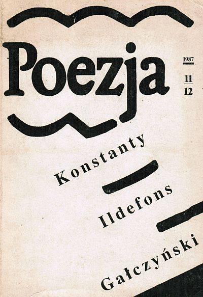 Znalezione obrazy dla zapytania Poezja Nr 11-12  1987
